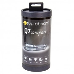 Suprabeam SBQ7COMPACT - 350 Lumen Rechargeable Compact Torch Torch with Rechargeable Batteries