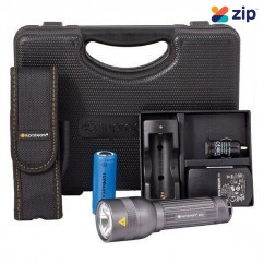 Suprabeam SBQ7XR - 1000 Lumen Q7XR Rechargeable LED Torch Torch with Rechargeable Batteries