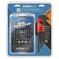 Sutton D102SM3BNS - 25 Piece Blue Bullet Metric Drill Set Driver Bit Sets