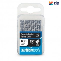 Sutton D1340326 - #30 54mm HSS Double Ended Panel Drill Bits 10 Pack