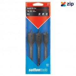 Sutton Tools D501SS3 - 3 PC Spade Bits Set Drill/Driver Bit Sets