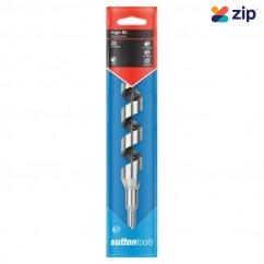 Sutton Tools D5101400 - 14 X 200mm 1/4-HEX Shank Alloy Steel Short Series  Auger Bit Drill Bits