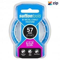 Sutton Tools H1250570 - 57mm Bi-Metal Cobalt HSS Holesaw