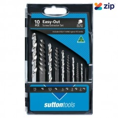Sutton Tools M603S20 - 10 Piece Screw Extractor & Drill Set