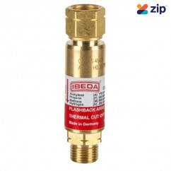 TESUCO FRSFD - Flashback Arrestor Fuel Gas Standard Flow Regulator End
