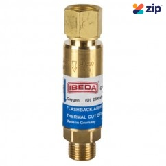 TESUCO FRSOD - Flashback Arrestor Oxygen Standard Flow Regulator End