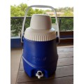 THORZT DC05B - 5L Blue Drink Cooler c/w Tap & Cup Hydration