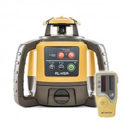 Topcon RL-H5A - Self Leveling Construction Red Beam Rotating Laser w/ LS-80L Receiver Rotating Lasers