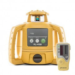 Topcon RL-H5B - 400M Self Levelling Construction Red Beam Rotating Laser w/ LS-80L Receiver 1021200-31 Rotating Lasers