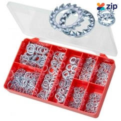 Torres AAK14 - 300 PCE DIN 6798 Internal & External Washers https://convertcase.net/Kit  Screws