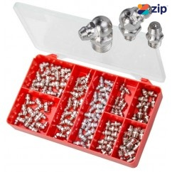 Torres AAK16 - 100 PCE Grease Nipples Kit Large Sizes Screws