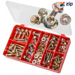 Torres AAK26 - 100 PCE Durlock Flange Bolts & Flange Nuts Kit Screws