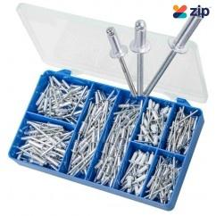 Torres HAK15 - 300 PCE Aluminium Pop Rivets Kit Screws