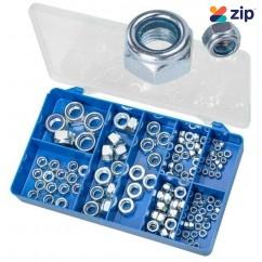 Torres HAK37 - 100 PCE Nylon Self Locking Nuts Kit Screws