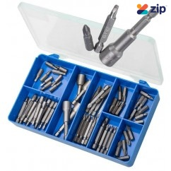 Torres HAK39 - 60 PCE Pozidrive, Square & Magnetic Nut Settters Kit Screws