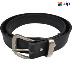 Trade Time JEANBLACK - 38mm Leather Jeans Belt Black Belts