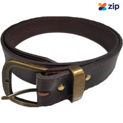 Trade Time JEANBROWN - 38mm Leather Jeans Belt Brown Belts