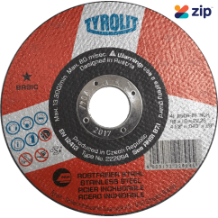 Tyrolit Y486473 Basic 115mm Cutting Wheel for Steel/Stainless