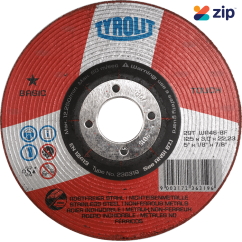 Tyrolit Y236319 Basic Grinding Wheel 125x3.0x22.2mm for Steel/Stainless