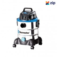 Vacmaster VMVQ1220SS - 1250W 20L Wet and Dry Stainless Steel Workshop Vacuum Workshop Equipment