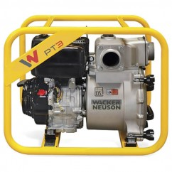 Wacker Neuson PT3A - 5.3KW 7.1HP Petrol Self Priming Trash Pump Fuel & Diesel Pumps