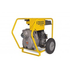 Wacker Neuson PTS4V - 11.9KW 16HP Petrol Self Priming Trash Pump Fuel & Diesel Pumps
