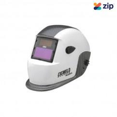 Cigweld 454323- Weldskill Auto-Darkening White Carbon Welding Helmet Welding Apparel