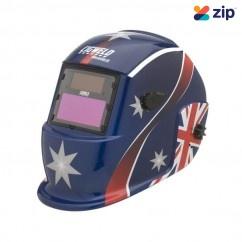 Cigweld Weldskill 454324- Auto-Darkening Aussie Flag Welding Helmet Welding Apparel