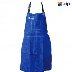 Weldclass A1 - Promax Blue Premium Leather Apron WC01753 Welding Apparel