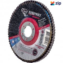 "Taipan AF100120 - 100mm (4"") Z120 Grit Flap Disc TO-5008 Cutting & Grinding Discs"