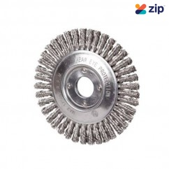 Taipan TO-3670 - 125mm x 6mm Stainless-Steel Pipeline Wheel Brush