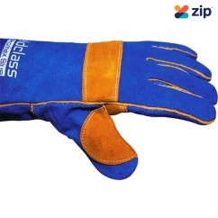 Weldclass WC-01777 - 400mm Left Hand Promax Kevlar Sewn Blue Welding Gloves 8-WGX04 Gloves