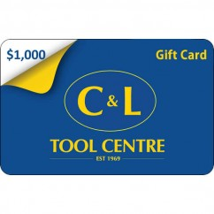 $1,000 C&L Gift Card - A Great Gift Idea