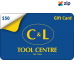 $50 C&L Gift Card - A Great Gift Idea